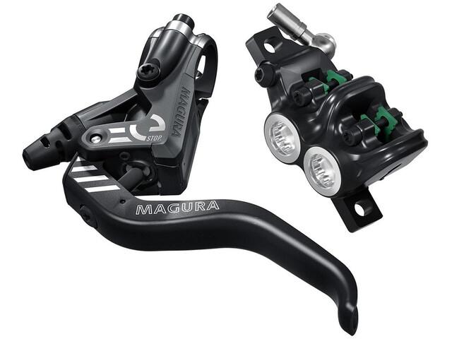 Magura MT5 eSTOP Levier de frein pour levier léger aluminium à 2 doigts droite/gauche, black